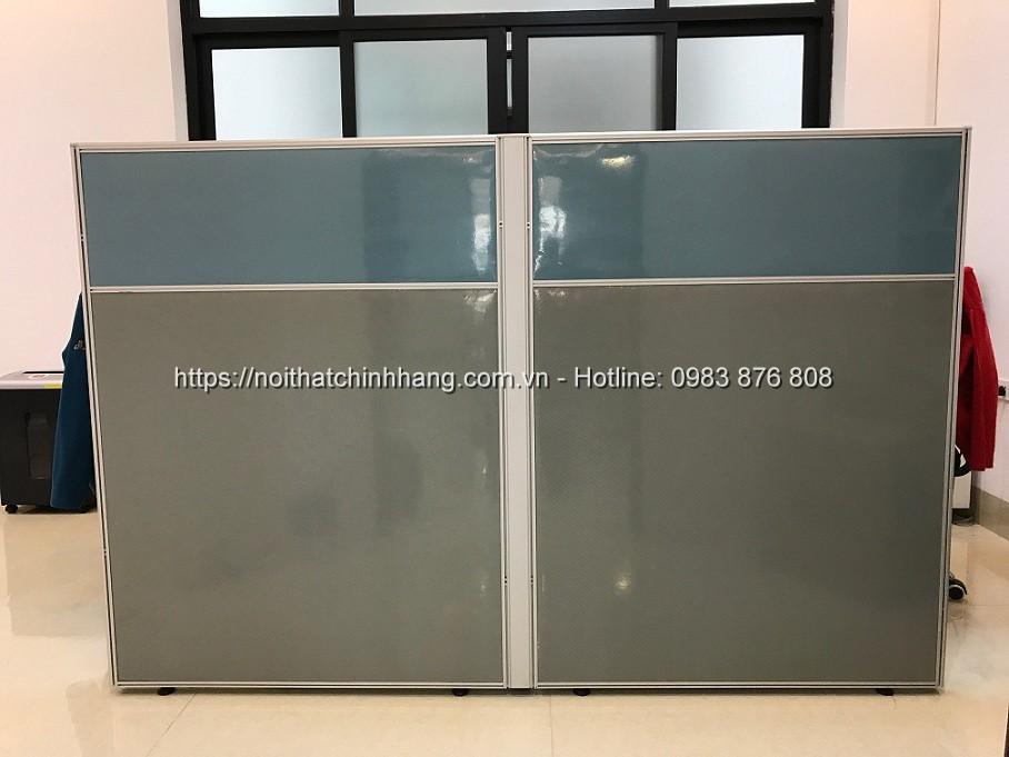 Vách ngăn nỉ múi 2 màu chia bàn làm việc VNN-HG20 - ảnh 2
